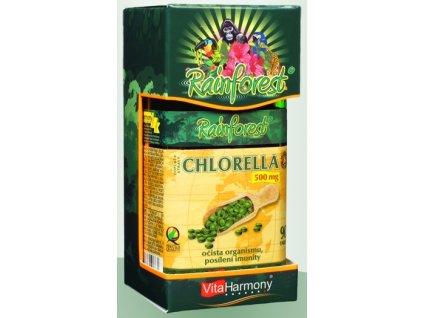 RainForest® Chlorella 500 mg - 90 tbl.