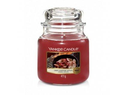 crisp campfire apples candela in giara media yankee candle