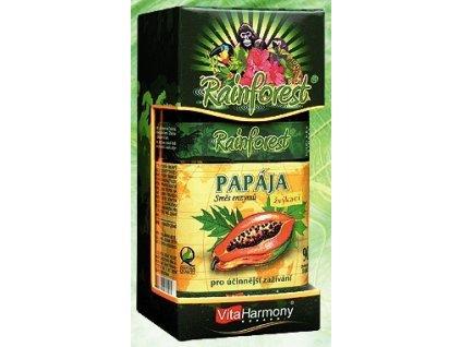 RainForest® Papája, směs enzymů 45 mg - 90 tbl.
