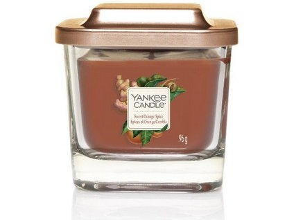 VONNÁ SVÍČKA Yankee Candle Sweet Orange Spice 96g