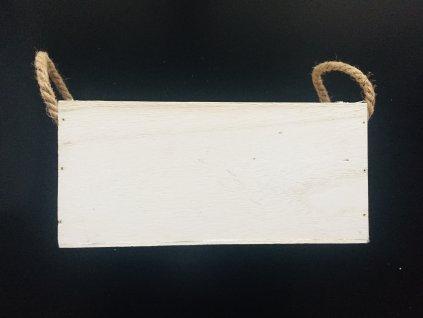 Dřevěný květináč bedýnka 1 ks