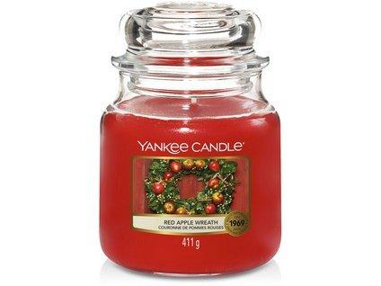 VONNÁ SVÍČKA Yankee Candle Red Apple Wreath 411g