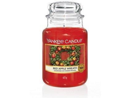 VONNÁ SVÍČKA Yankee Candle Red Apple Wreath 623g