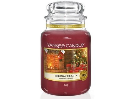 VONNÁ SVÍČKA Yankee Candle Holiday Hearth 623 g