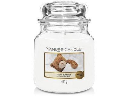VONNÁ SVÍČKA Yankee Candle Soft Blanket 411g