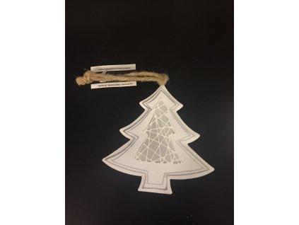Vánoční stromek kovový 14 cm
