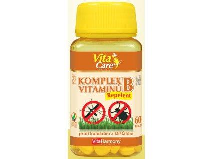 Komplet vitaminů B Repelent , 60 tbl.