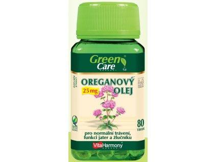 Oreganový olej 25 mg - 80 tbl.