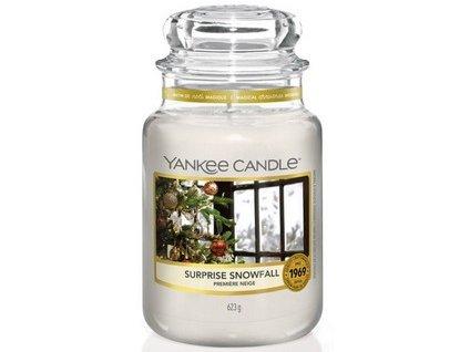 VONNÁ SVÍČKA Yankee Candle Surprise Snowfall 623g