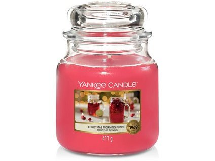 VONNÁ SVÍČKA Yankee Candle Christmas Morning Punch 411g