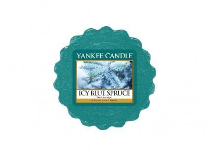 YANKEE CANDLE ICY BLUE SPRUCE VONNÝ VOSK DO AROMALAMPY 22G