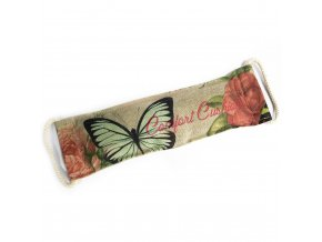 Levandulovo-Pšeničný Terapeutický Polštář - Motýl & Růže 1 ks