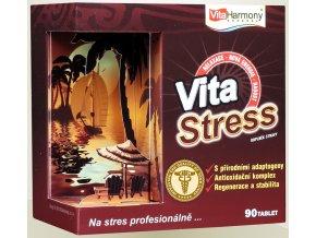 VitaStress, při nadměrné a stresové zátěži - 90 tbl. + Sportovní gel hřejivý - 50 ml