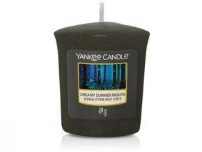 Vonná svíčka  Yankee Candle votivní svíčka Dreamy summer nights  49 g