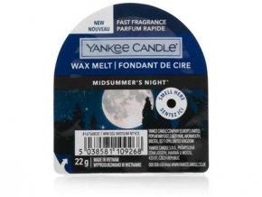 Yakee Candle vonný vosk do aromalampy nový MIDSUMMERS NIGHT  22g