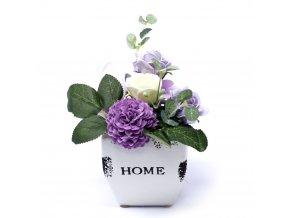 Mýdlová Malá Kytice v Květináči 1ks