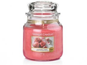 VONNÁ SVÍČKA Yankee Candle  Roseberry sorbet 411 g