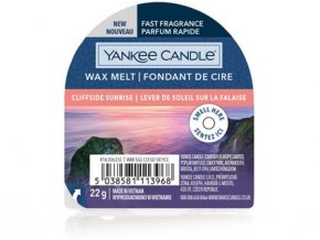 Yakee Candle vonný vosk do aromalampy nový CLIFFSIDE SUNRISE 22g