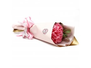Mýdlové květy karafiát pugét 1ks