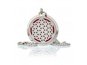 Aroma náhrdelník  Květ života 30 mm