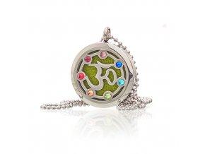 Aroma náhrdelník  OM Chakra 30 mm