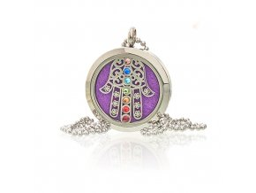 Aroma náhrdelník  Hamsa Chakra 30 mm