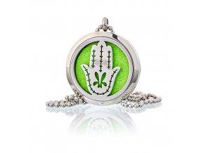 Aroma náhrdelník  Hamsa  30 mm