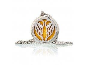 Aroma náhrdelník  Andělská křídla 30 mm