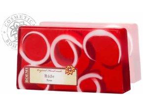 Mýdlo křišťálové spirálové RŮŽE 140g