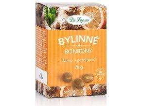 Bonbony Zázvor – pomeranč, 70 g