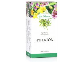 Bylinný čaj HYPERTON s obsahem jmelí - 50g