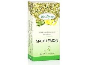 Bylinný čaj z Jižní Ameriky MATÉ LEMON - 30g (20 sáčků)