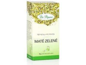 Bylinný čaj z Jižní Ameriky MATÉ ZELENÉ pro snížení hmotnosti - 30g (20 sáčků)