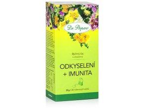 Bylinný čaj ODKYSELENÍ + IMUNITA s vilcacorou - 30 g (20 sáčků)