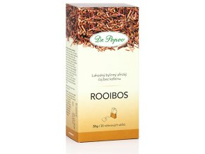 Bylinný africký čaj ROOIBOS bez kofeinu - 30g (20 sáčků)