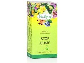 Bylinný čaj STOP CUKR® s borůvkou a skořicí - 30g (20 sáčků)