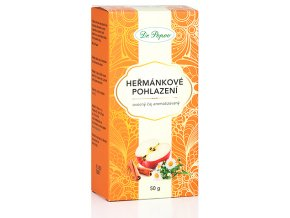 Ovocný dárkový čaj HEŘMÁNKOVÉ POHLAZENÍ - 50g