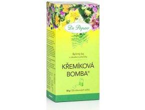 Bylinný čaj KŘEMÍKOVÁ BOMBA® pro zdravé vlasy, kosti a pokožku - 30g (20 sáčků)