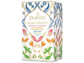 BIO Čaj ayurvédský HERBAL COLLECTION - 34g (20 sáčků)