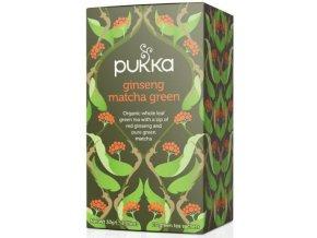 Čaj ayurvédksý GINSENG MATCHA GREEN - 30g (20 sáčků)
