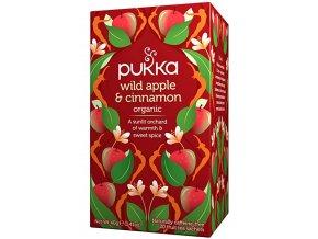 Čaj ayurvédksý WILD APPLE & CINNAMON - 40g (20 sáčků)