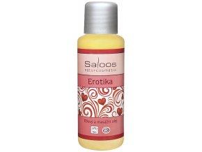 Bio tělový a masážní olej EROTIKA
