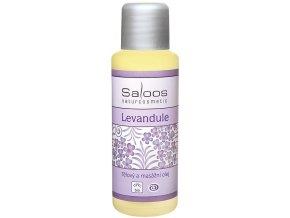 Bio tělový a masážní olej LEVANDULE