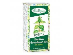 Bylinný čaj Kopřiva dvoudomá list 30g (20 sáčků)