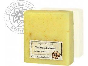 Mýdlo glycerinové Tea - Tree a chmel 105g
