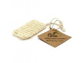 Přírodní pytlík na mýdlo - Sisal 1 ks