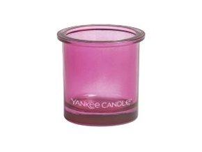 Yankee Candle svícen na votivní svíčku PINK 1 ks