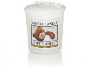 Yankee Candle votivní svíčka Soft Blanket 49 g