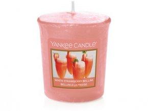 Yankee Candle votivní svíčka White strawberry bellini 49 g