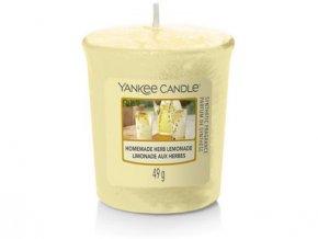 Yankee Candle votivní svíčka Homemade herb lemonade 49 g